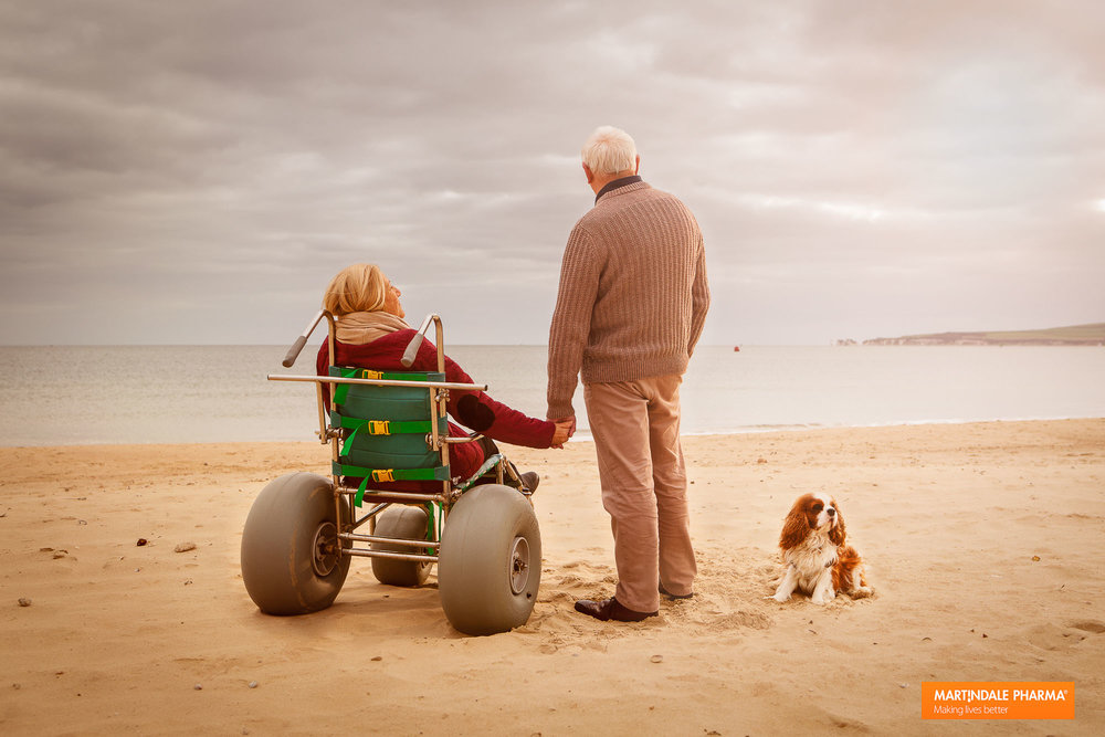 Tim Platt - elderly couple on beach