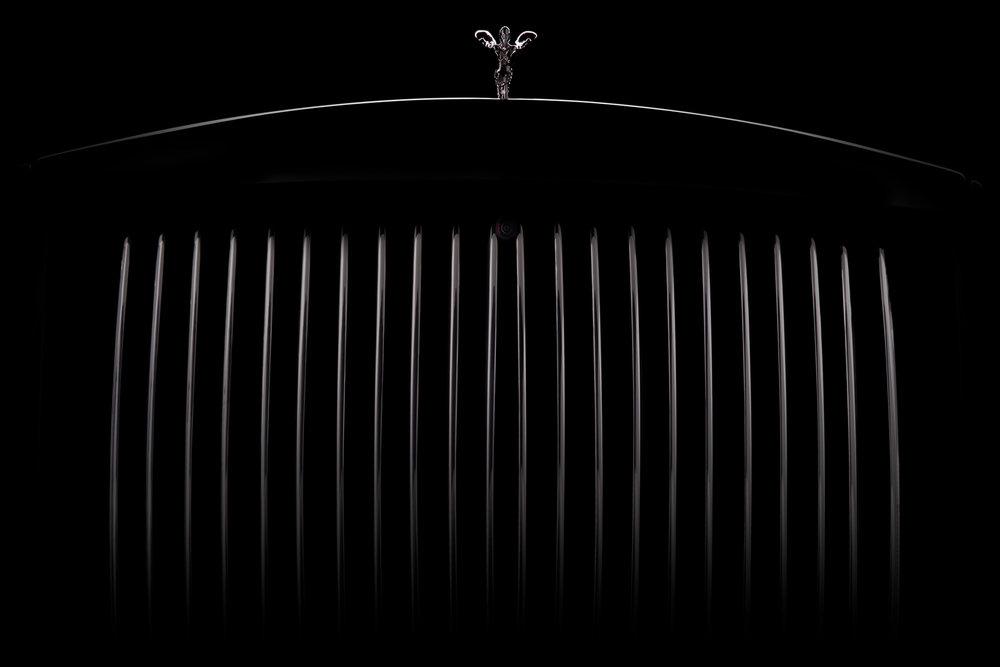 Nigel Harniman - Rolls Royce grill