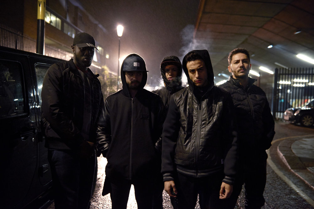 Rob Baker Ashton- gang on street