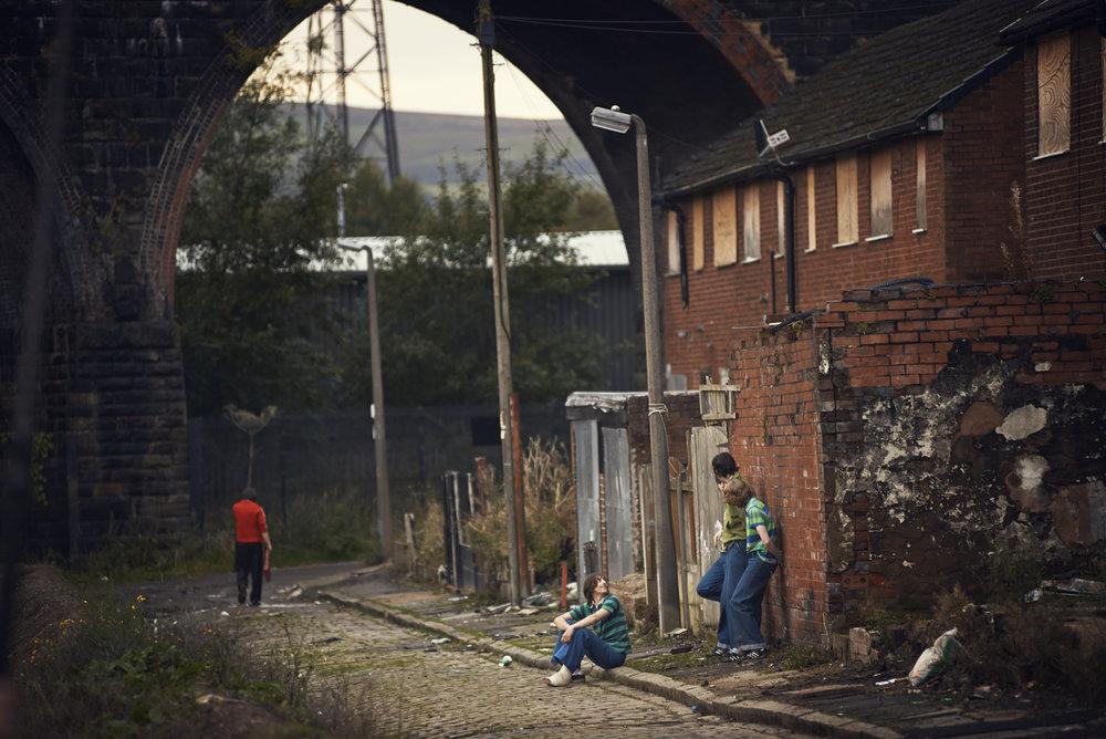 Rob Baker Ashton - street scene under arch