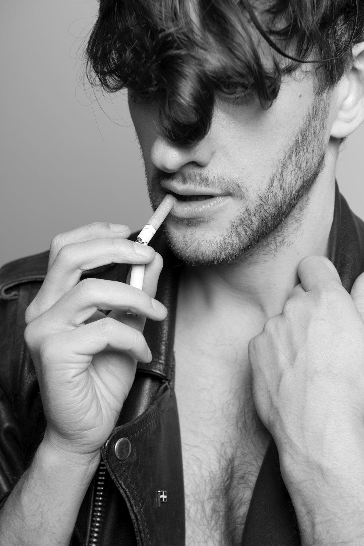 Rob Baker Ashton - man with cigarette