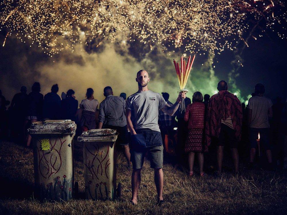 Matthew Joseph - Guy with fireworks