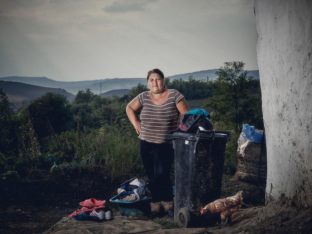 Matthew Joseph - Woman and bin
