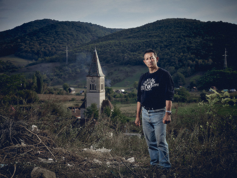 Matthew Joseph - Man near church steeple
