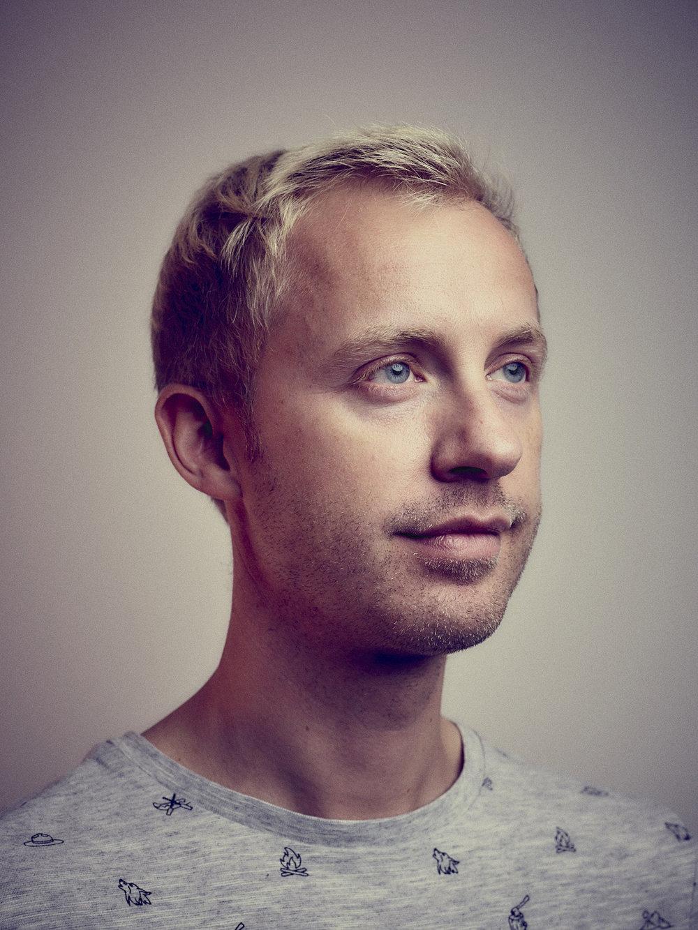 Matthew Joseph - portrait of man with blonde hair