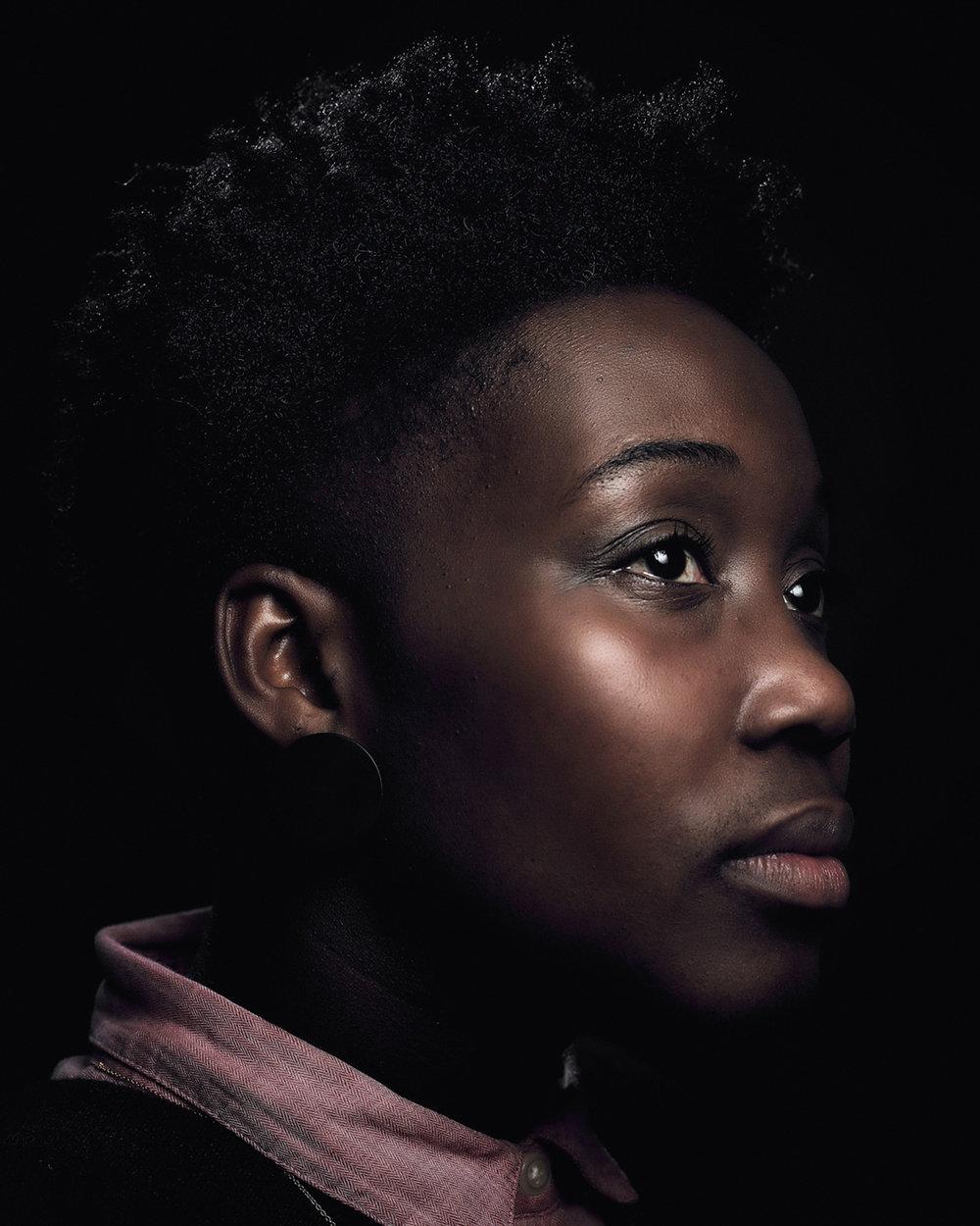 Matthew Joseph - portrait of woman profile
