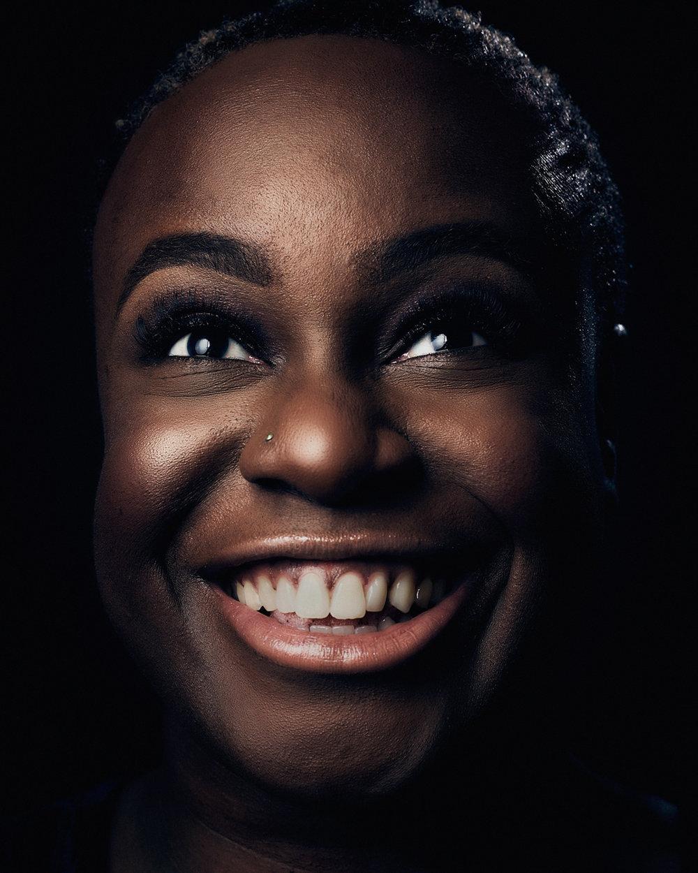 Matthew Joseph - portrait of women laughing