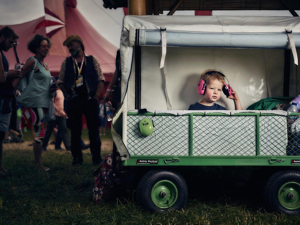 Matthew Joseph - little girl in trolley