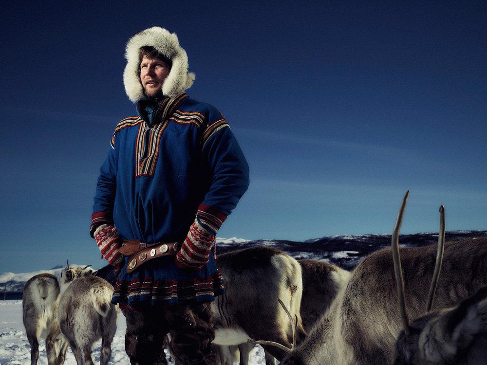 Matthew Joseph - Guy with reindeers