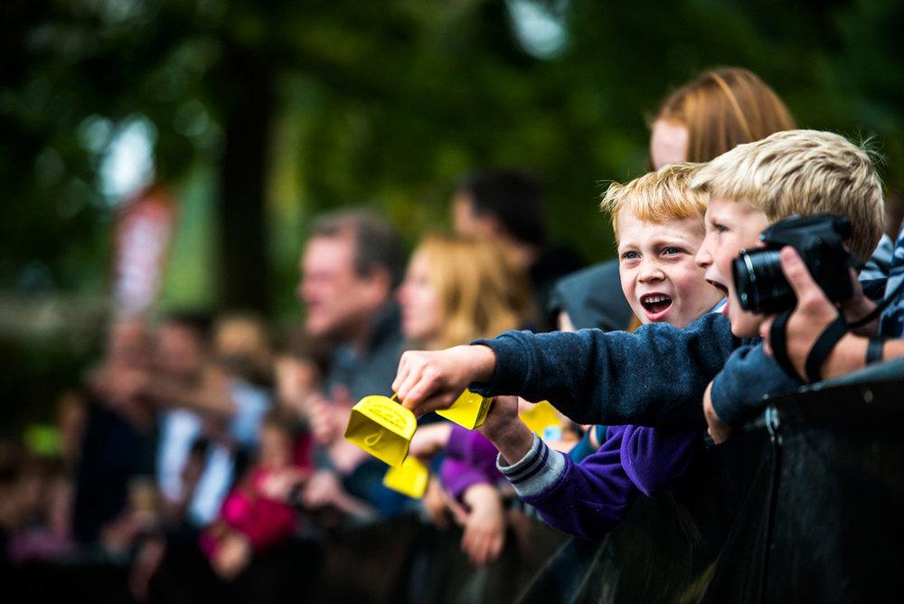 Matthew Joseph - children cheering