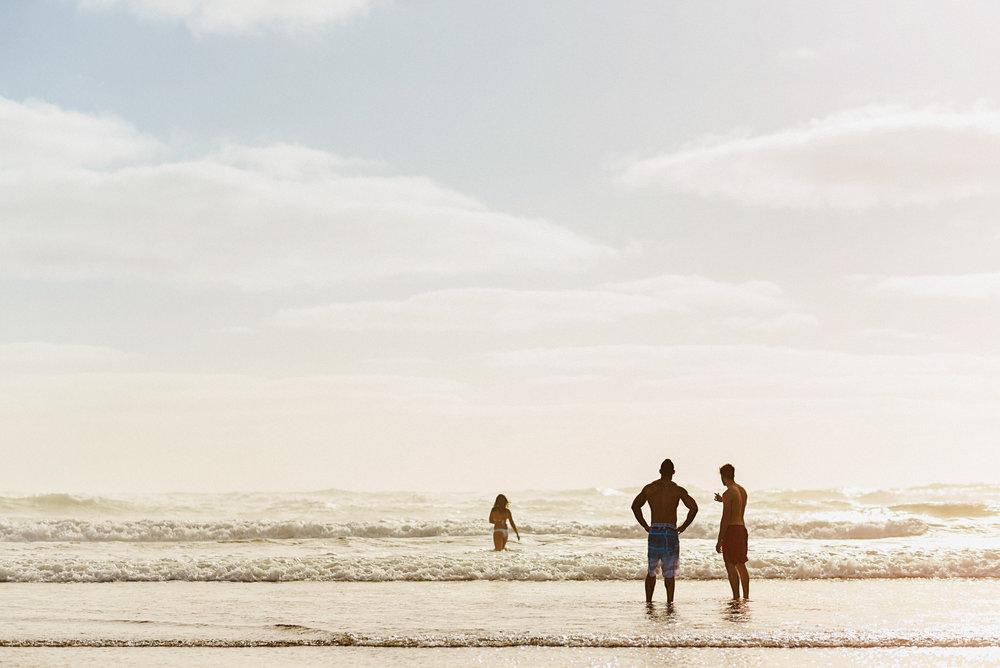 Matthew Joseph - at the beach