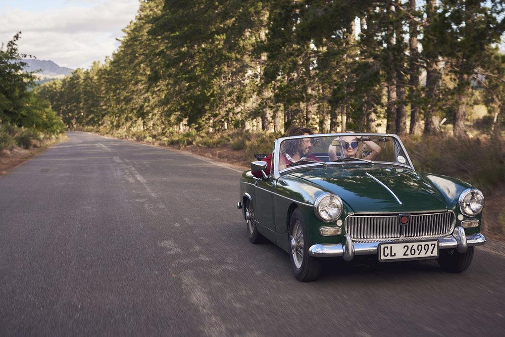 Matthew Joseph - car on road
