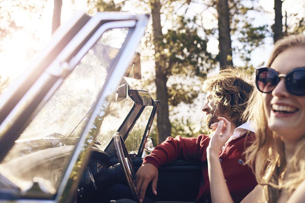Matthew Joseph - man and woman in car