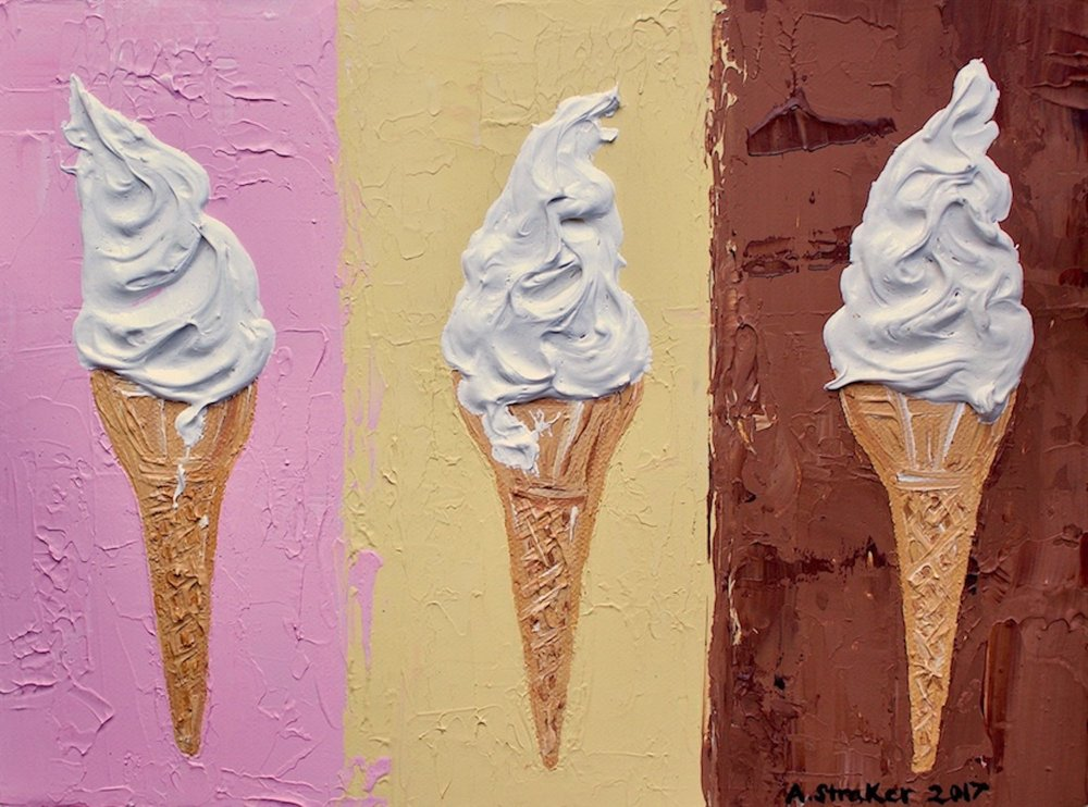 Ice Creams on Neapolitan Alice Straker.jpg