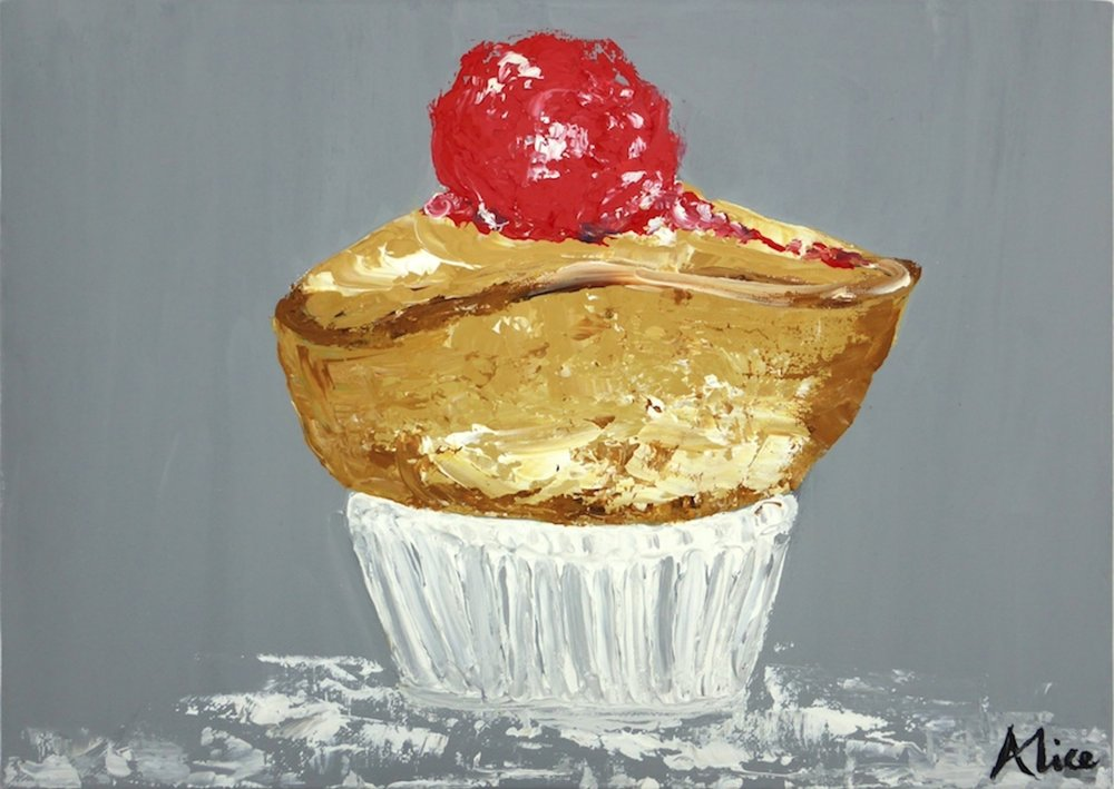 Souffle with Raspberry ice cream Alice Straker.jpg