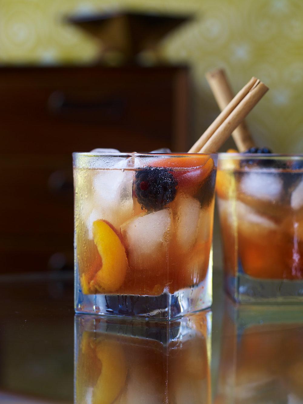 Stuart West - fruit cocktail drink