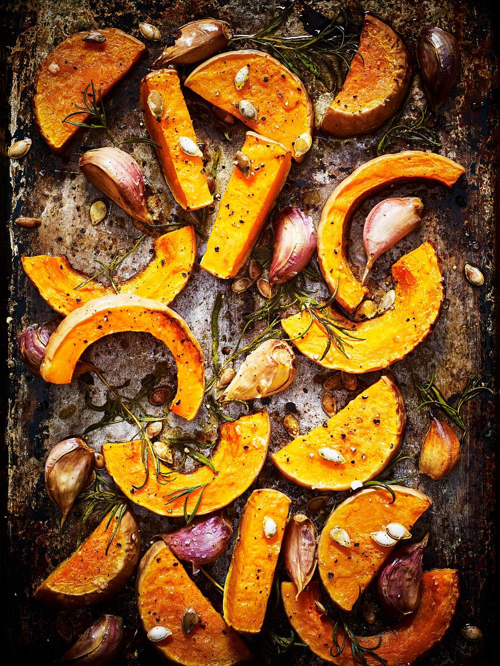 Stuart West - roasted vegetables