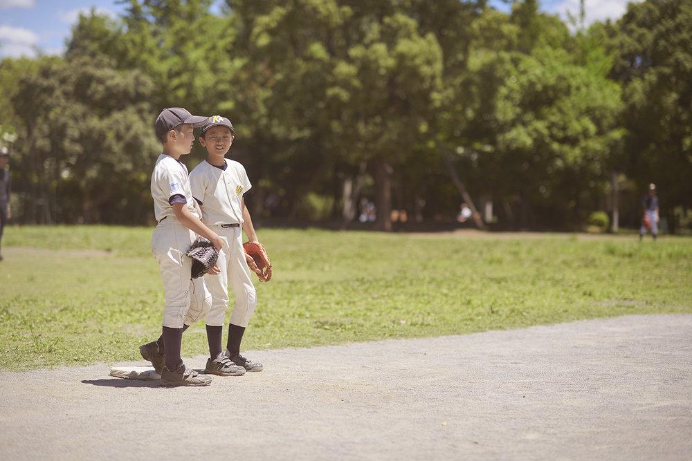 Dee Ramadan - boys playing baseball in Tokyo