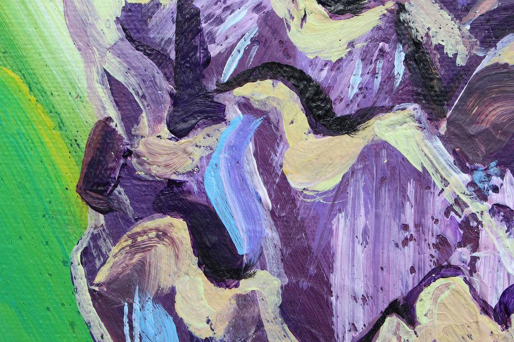 Alice Straker - Artichoke detail