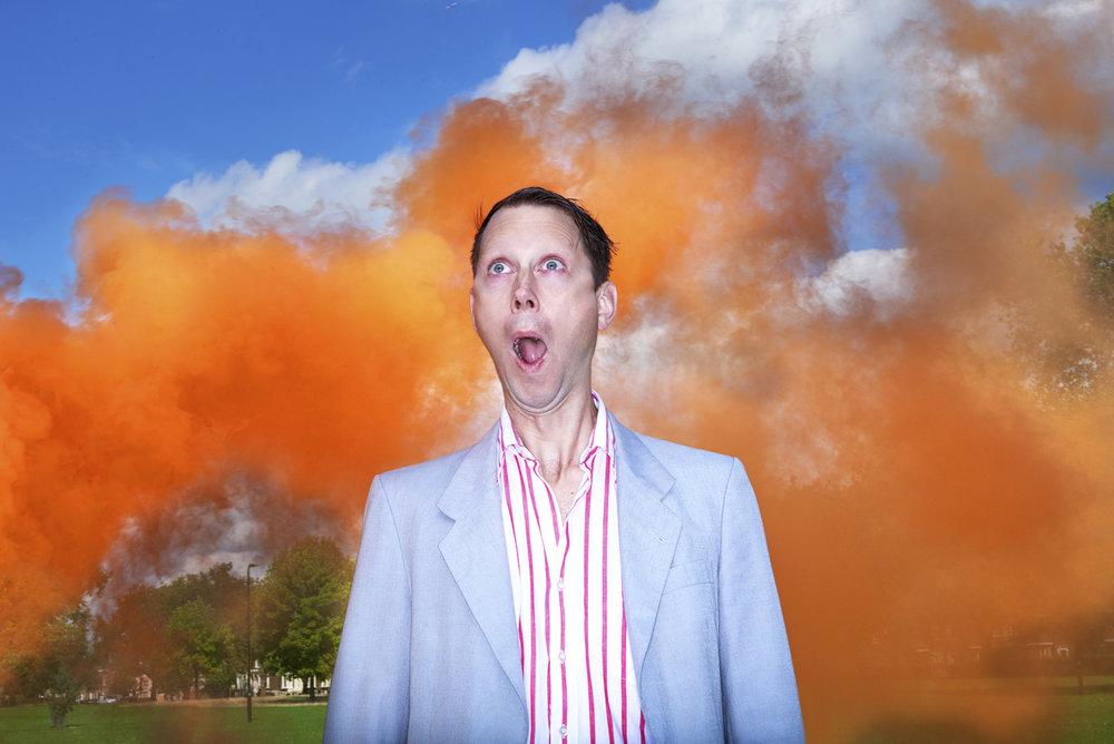 Rob Baker Ashton - Orange sky
