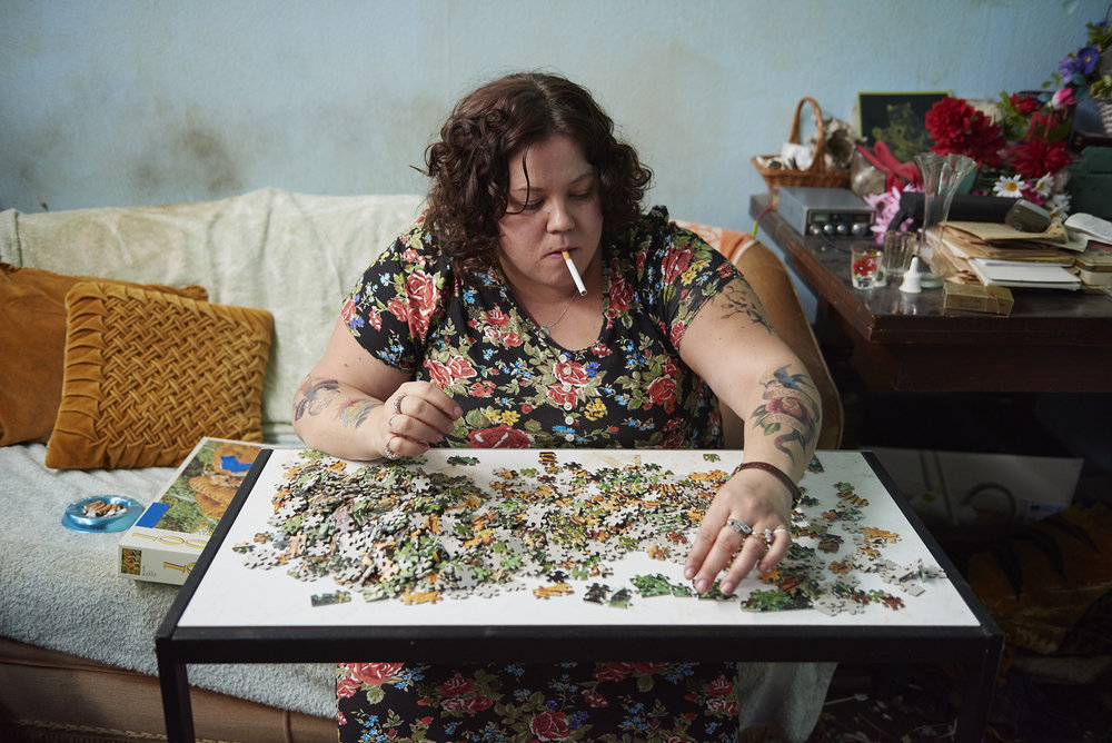Rob Baker Ashton - Ray and Liz - fixing puzzle