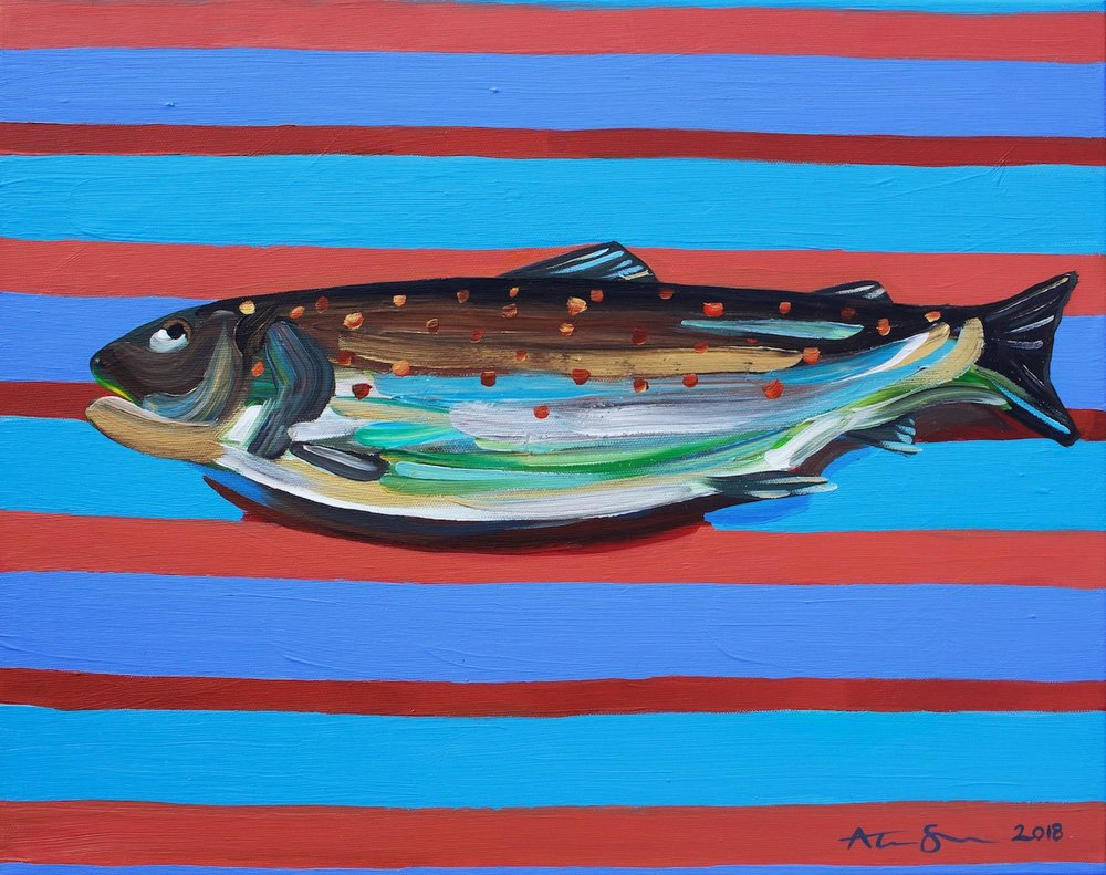 Alice Straker - Brown Trout