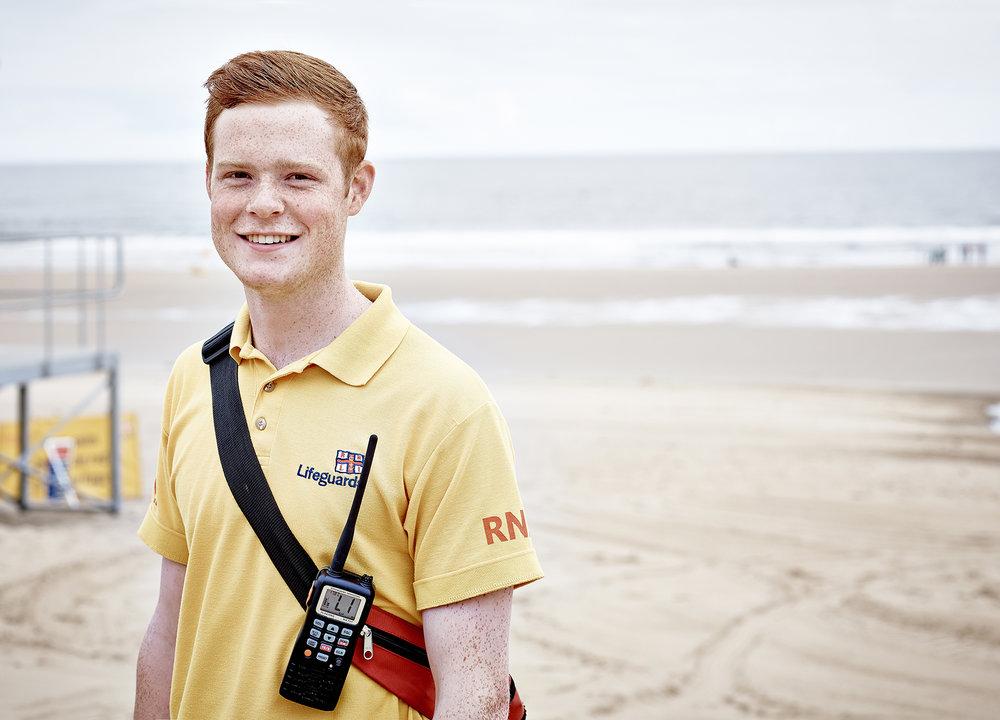 John Donohue - beach lifeguard