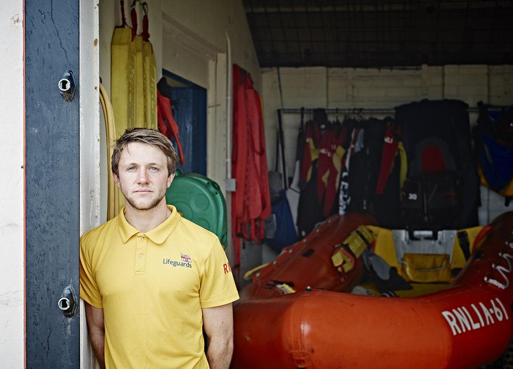 John Donoghue -lifeguard shed