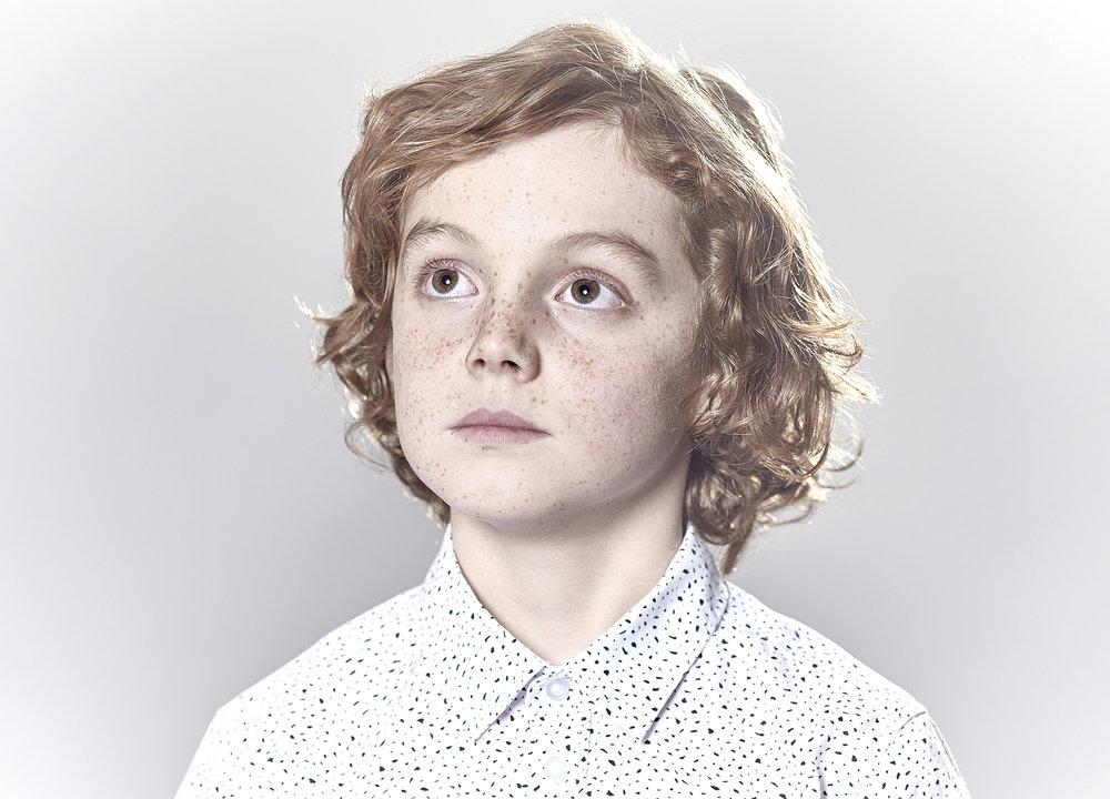 John Donoghue - portrait of little boy
