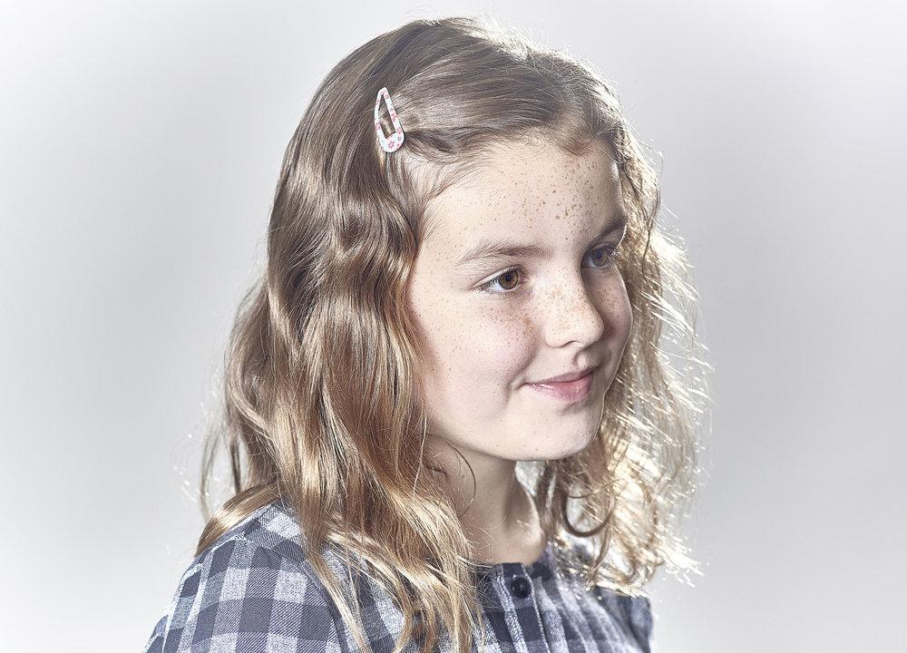 John Donoghue - portrait of little girl