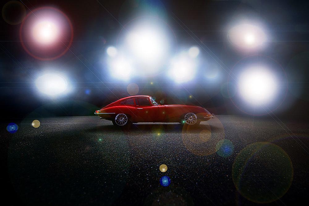 Kevin Mallett - profile of jaguar car