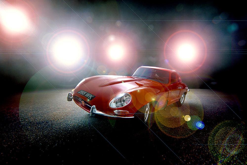 Kevin Mallett - red jaguar car
