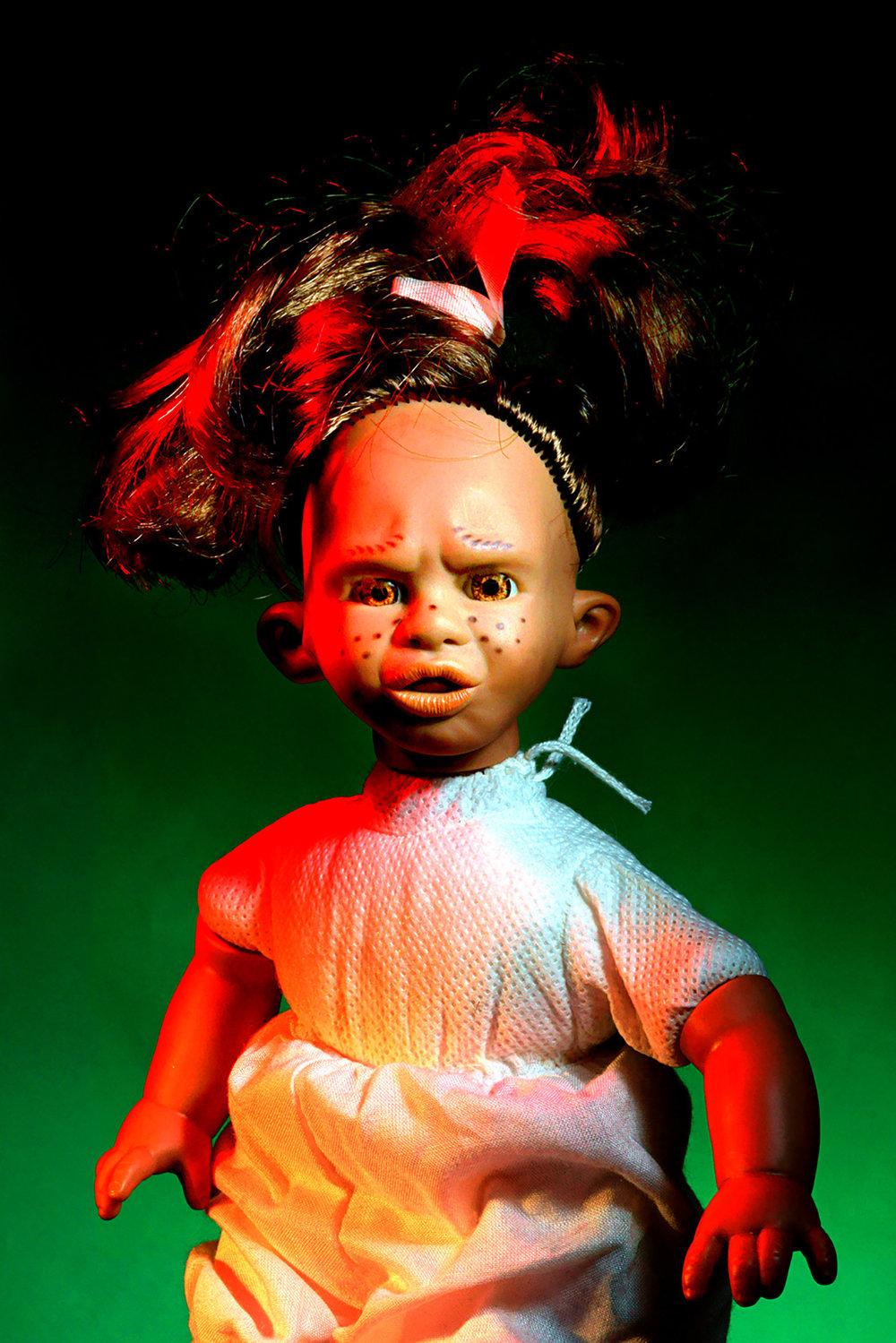 Kevin Mallett - doll with attitude
