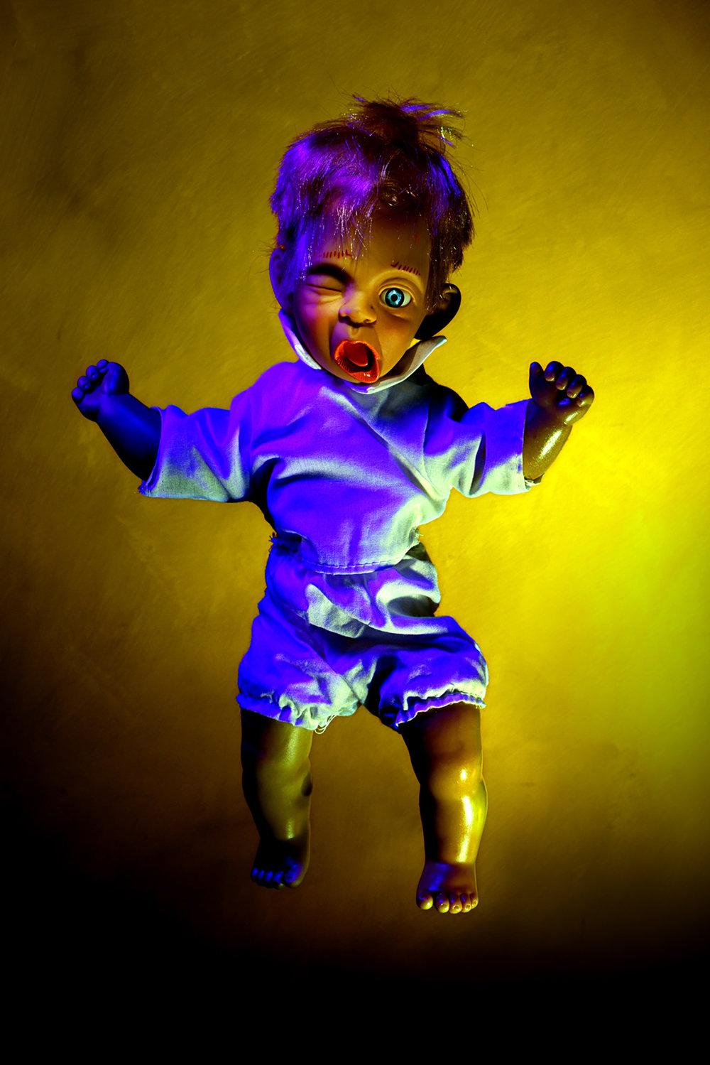 Kevin Mallett- purple doll