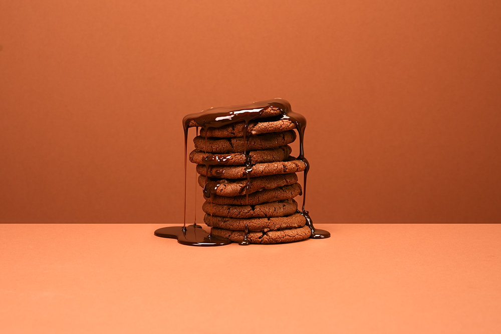 Kevin Mallett - biscuits with chocolate