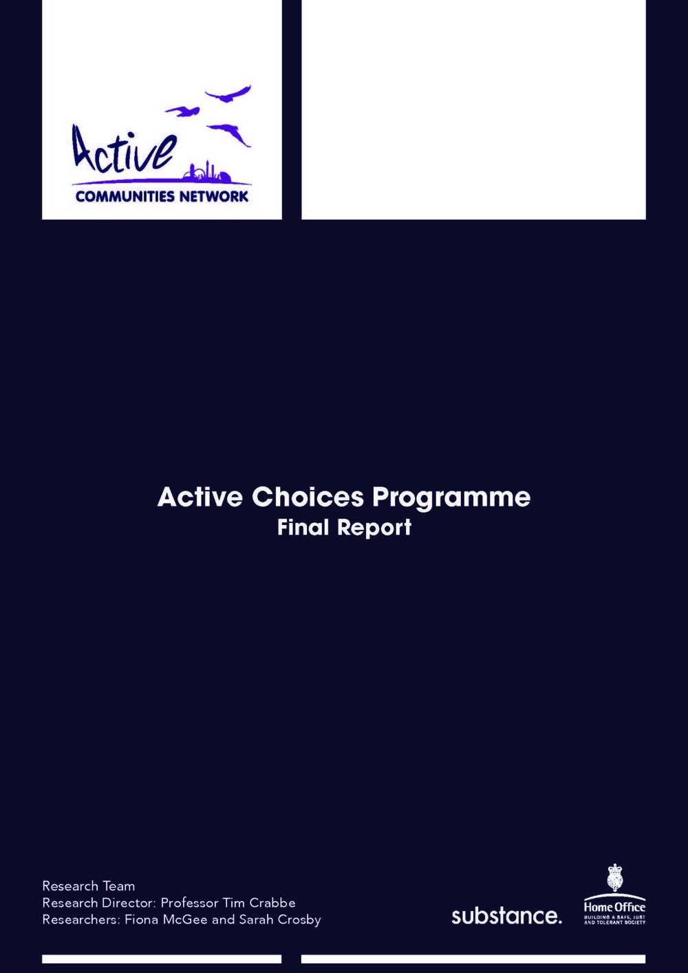 Active choices programme