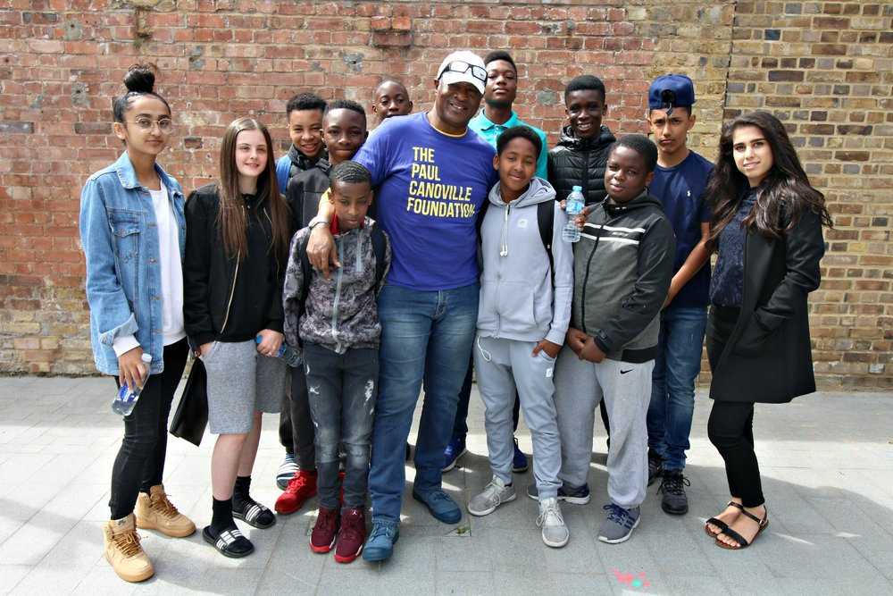 Paul Canoville visits SE1