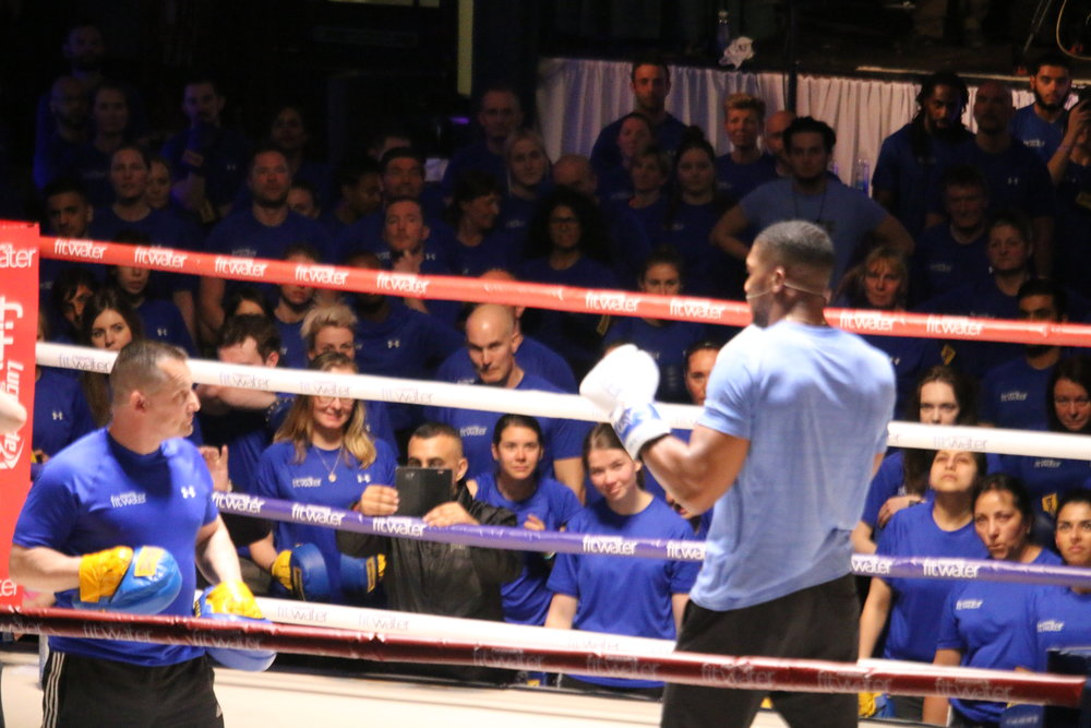 AJ Boxercise Class
