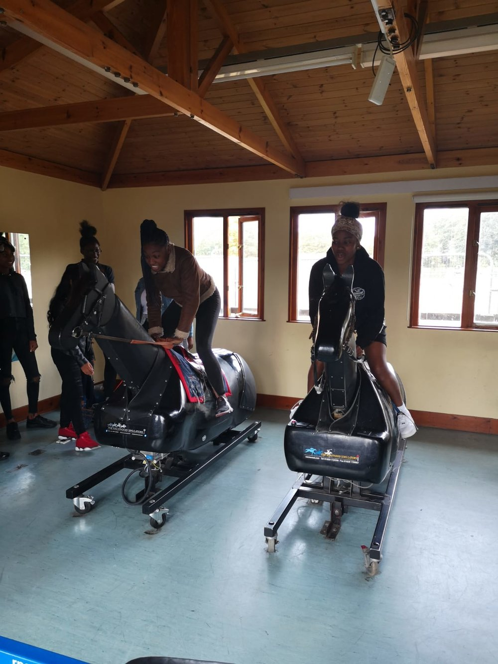 Lambeth group visit the British Racing College