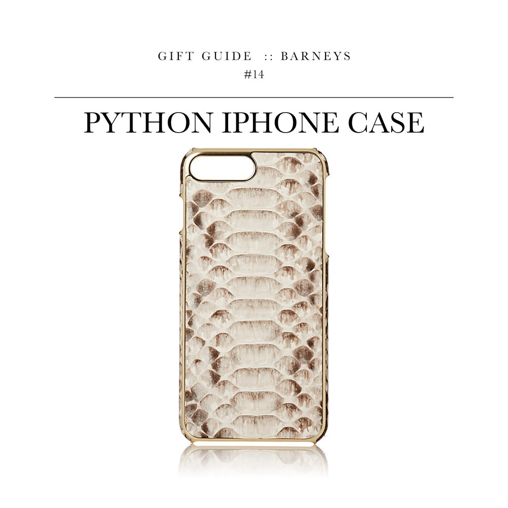 Python iPhone Case  via Barneys // Forget the Otterbox and pick up this bad boy.