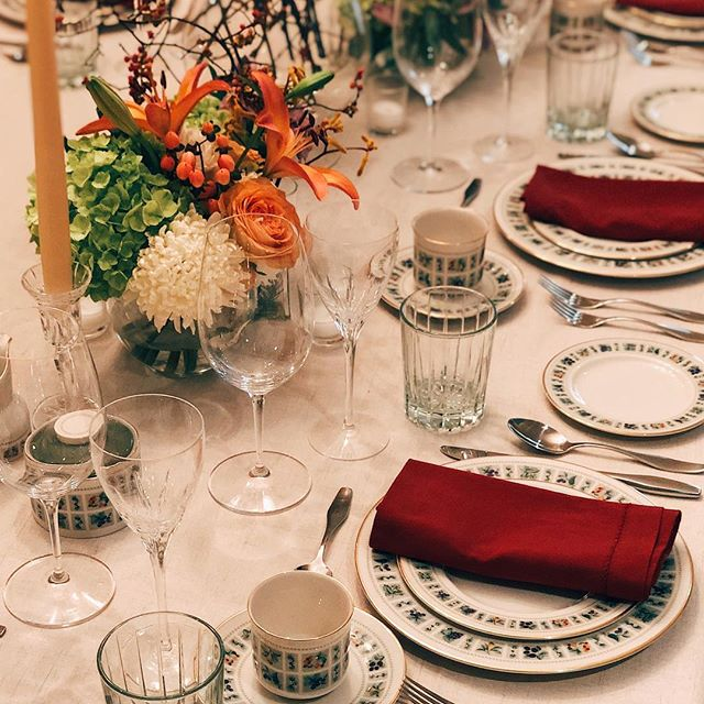 Happy Thanksgiving! #TablescapedByDean