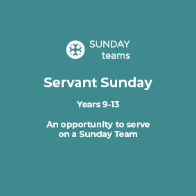 Servant Sunday