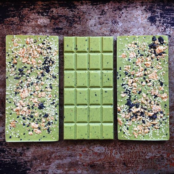 David H Chow matcha chocolate bars