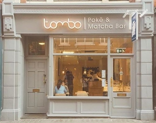 The newly opened Tombo Poke & Matcha Bar