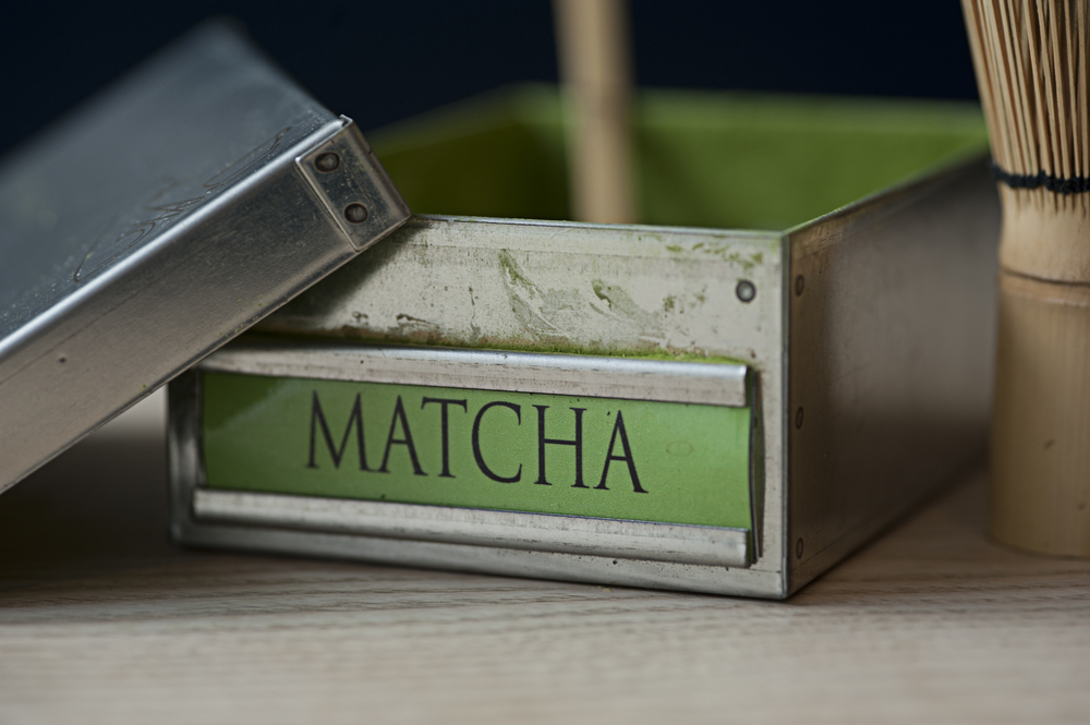 Comins Teahouse matcha tea box