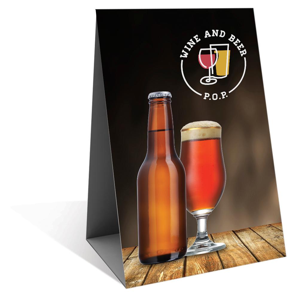 Table Tent  sc 1 st  Wine u0026 Beer POP & Table Tent u2014 Wine u0026 Beer P.O.P.