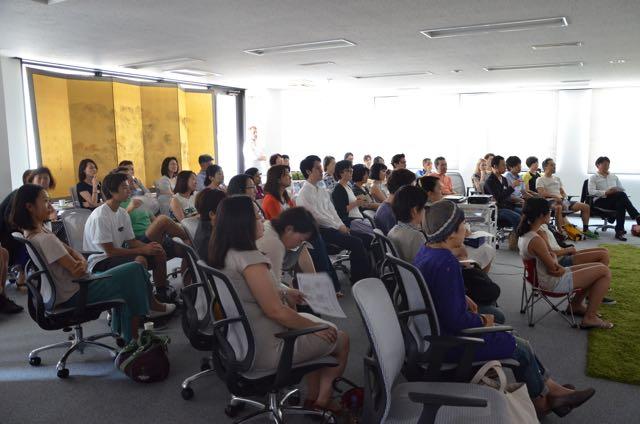 at Tokyo Academics' event space in Nishiazabu