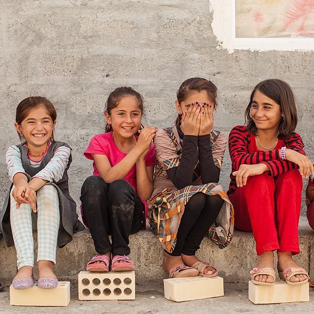 We're building these kids a new school at @therefugeinitiative in #Iraq! To get involved, visit www.sponsorarefugee.com.