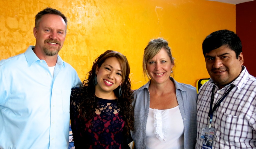4.29.15_2_Teaching Team - LtoR_Scott, Jenny Barrios, Kathy, Hefer Beteta