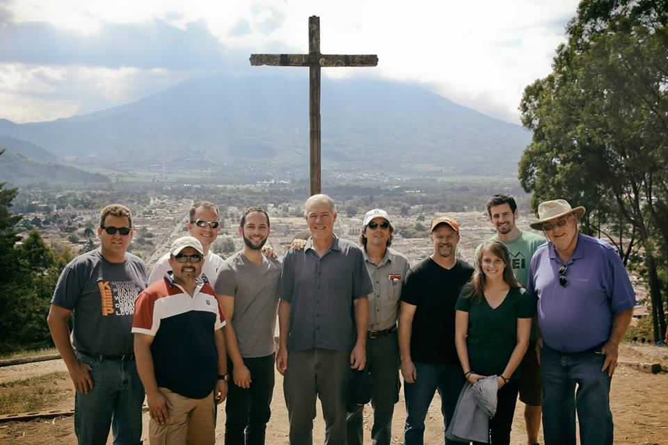 World Orphans Board of Directors with staff in Guatemala